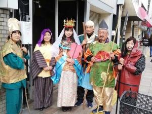 徳島市 両国本町商店街 えびす祭り 七福神