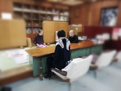 そごう徳島店 南 呉服店 おしゃれな着物 お客様