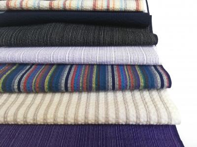 木綿の着物 徳島の阿波しじら織 販売呉服店 婦久や 阿波しじらの布