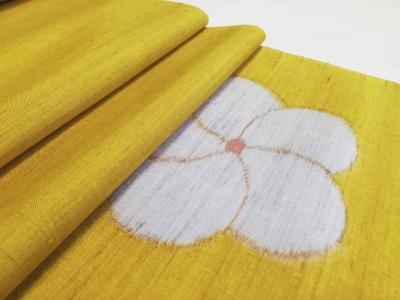 梅 ねじ梅 文様 着物 紬 つむぎの着物 徳島市の老舗呉服店