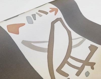 手描き友禅 蝋纈 液書き なごや帯 着物屋 徳島 オシャレな呉服店