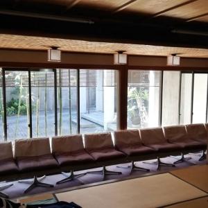 床の間 和の庭 換気 徳島市の呉服店