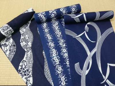 藍染め浴衣 阿波藍 徳島 本藍染め浴衣販売店