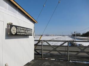 埼玉県川越市の雪景色