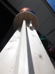 手作り木工テーブル01