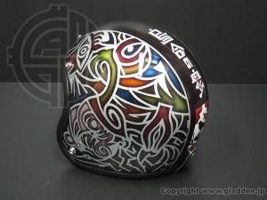 ジェットヘルメットペイント