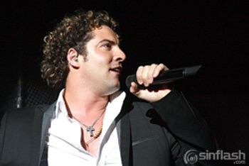 David Bisbal in Caracas, Venezuela