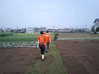 関野農園研修090619いざ!