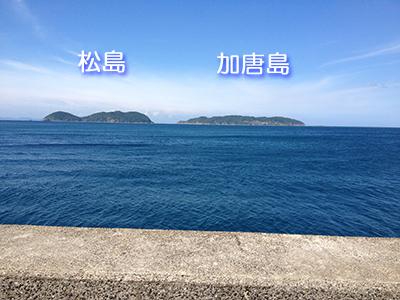 波戸岬 新波止から