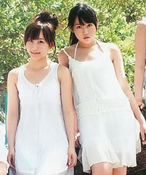 白いワンピースの多田愛佳