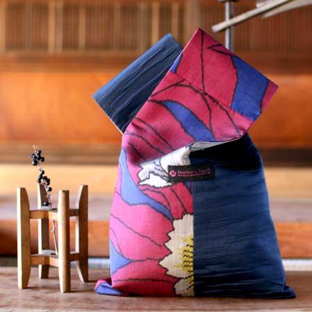 「やさしく過ごす ゆかた時間。」掲載された折り紙バッグはこちらです♪