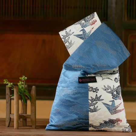 浴衣に折り紙バッグは似合います2