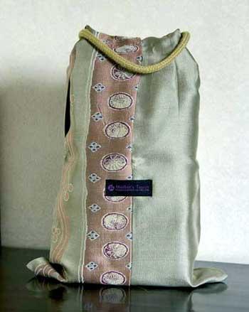 紐を使った折り紙バッグの新しい使い方
