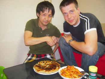 日伊料理対決2009