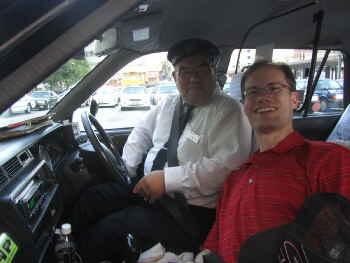 劇的な再会をしたタクシーの運転手さん