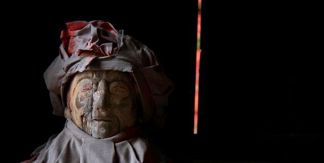 須弥寺木像マリ