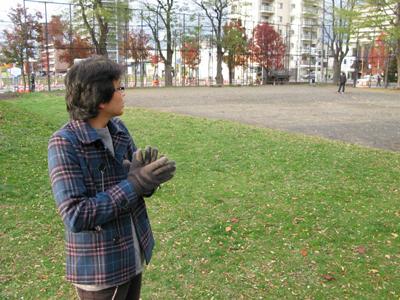 '09.11.03公園稽古写真01