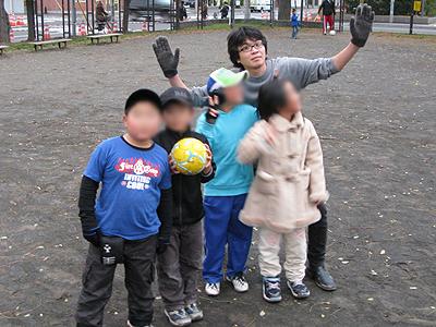 '09.11.03公園稽古写真11