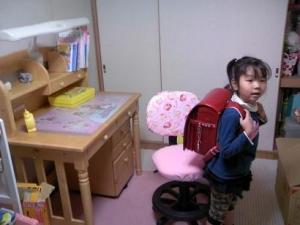 一年生の準備