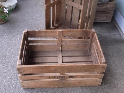 アンティーク木箱,ピッキングボックス