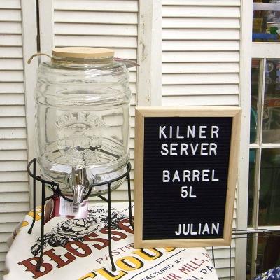 KILNER,キルナー,ビバレッジサーバー,ドリンクディスペンサー,バレル,樽