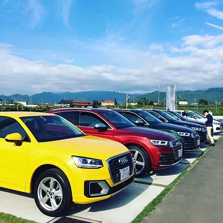 Audi Q5、SQ5 × MGVsワイナリー
