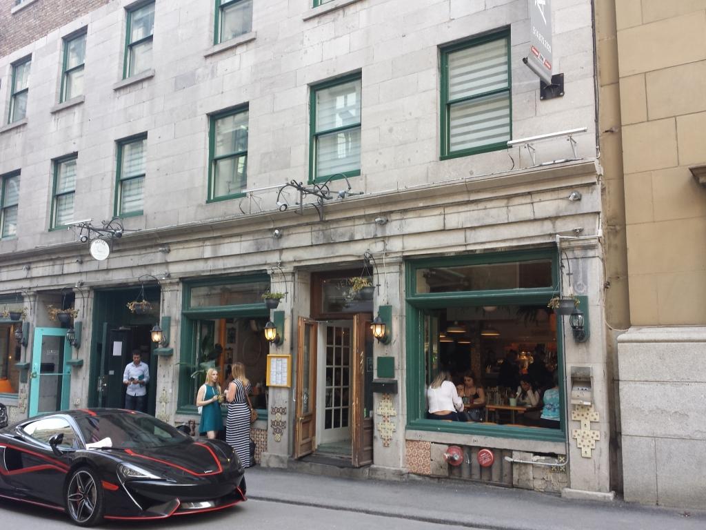 モントリオール レストラン venice