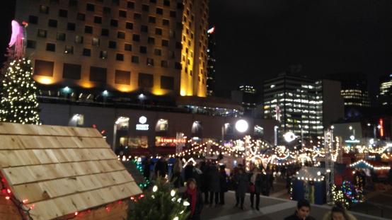 モントリオール クリスマスマーケット カナダ