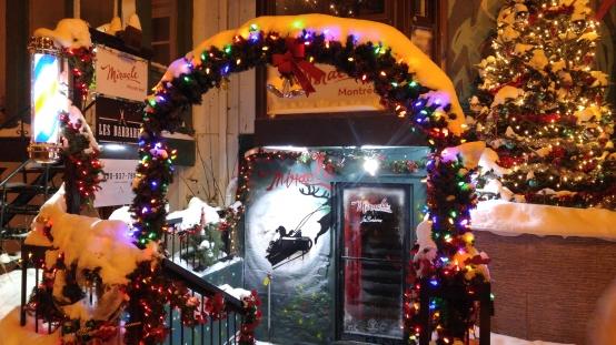モントリオール クリスマス montreal chiristmas カナダ canada barmiracle