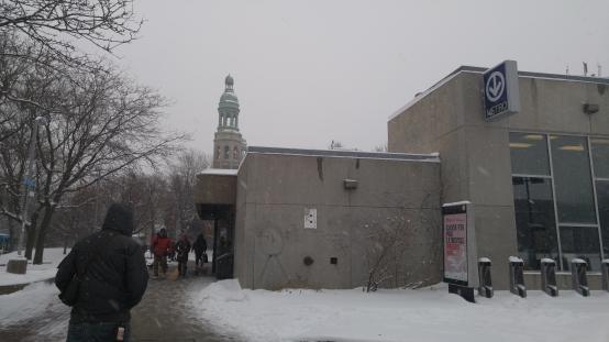 モントリオール 冬 雪 Montreal Winter