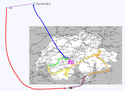 旅行マップ