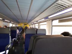 スイス国鉄車内