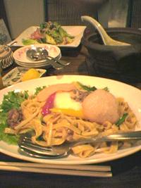 アジアンな夜ご飯