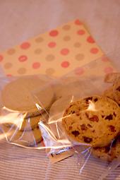 プレゼントのクッキー