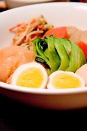 野菜とタマゴの煮物
