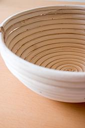 籐の発酵カゴ