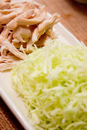 茹で鶏サラダ