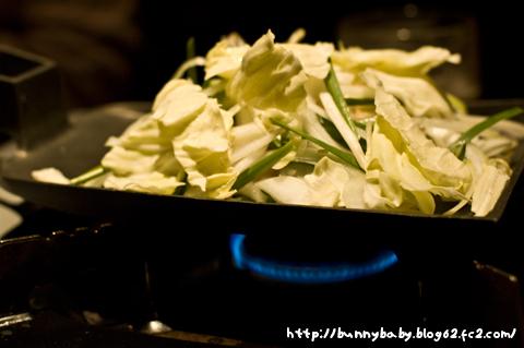 ホルモン鍬焼き