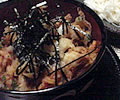 かき揚げの小天丼