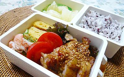 お弁当 「鶏の照焼き」