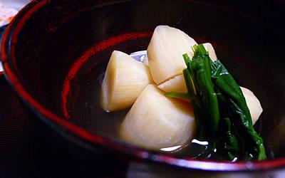 マコモタケの煮物