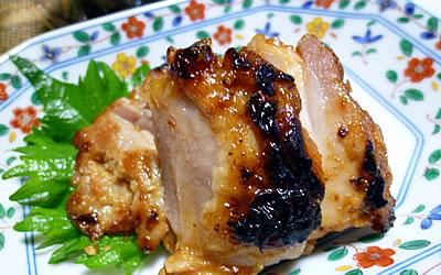 鶏肉の味噌漬