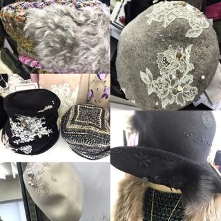 【クチュール帽子コレクション】 @乃木坂Saaya.にて開催中(12/12まで)