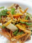 冷凍野菜炒め