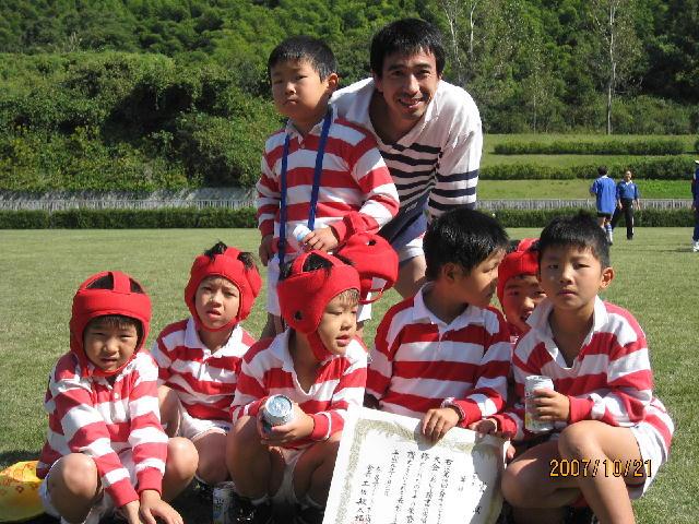 高木さんと幼児集合写真