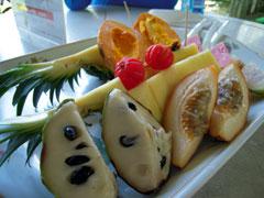 トロピカルなフルーツ