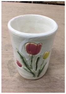 チューリップのカップ
