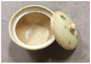 黄瀬戸菓子鉢