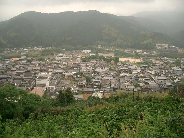 紀美野の町を一望