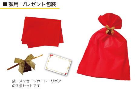 プレゼント包装 額